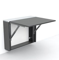 Mesa auxiliar / moderna / plegable / rectangular LONDON by Gorka Bujidos Evuala