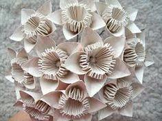 flower paper bouquet