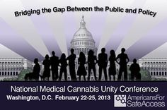 Washington D.C. | We are pleased to announce Bridging the Gap Between Public & Policy – Americans for Safe Access National Medical Cannabis Unity Conference, taking place February 22nd – 25th at the Mayflower Renaissance Hotel in Washington, D.C.