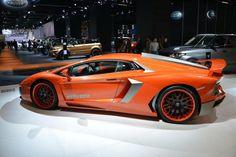 Hamman presentó en Frankfurt el Lamborghini Nervudo