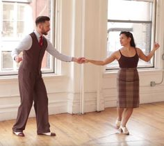 Free Great Instructional Swing Dance Videos from Evita and Michael