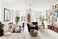 Dwell - This American Life's Ira Glass Lists His Light-Filled Chelsea Apartment For $1.75M