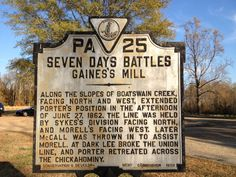 See 28 photos and 1 tip from 159 visitors to Gaines' Mill Battlefield American Civil War, American History, Native American, Haunted History, Civil War Photos, Family Homes, Prisoners Of War, Old Building, Ancestry