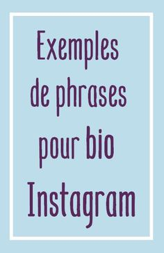 De nombreuses ideés de jolies phrases à utiliser pour votre bio Instagram. Originale, stylée, amusante, vous trouverez surement la phrase parfaite pour votre bio. #bioinstagram Instagram Bio Quotes, Citations Bio Instagram, Creative Instagram Names, Tbh Instagram, Get Instagram Followers, Story Instagram, Insta Bio, Phrase Insta, Phrases