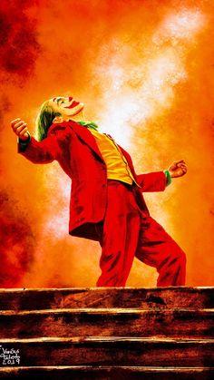 Joker Joaquin Phoenix Wallpaper ID # 43490 auf Superhelden Wallpapers stock Wal . Le Joker Batman, Joker Cartoon, Batman Joker Wallpaper, Der Joker, Joker Dc Comics, Joker Iphone Wallpaper, Joker Comic, Joker Wallpapers, Joker Art