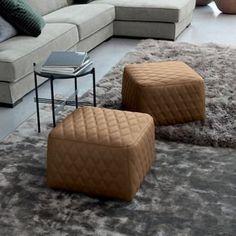 Source Whip Pouff by Flexteam Mid-century Modern, Contemporary, Mid Century Design, Modern Furniture, Branding Design, Ottoman, Foot Stools, Collections, Interior Design