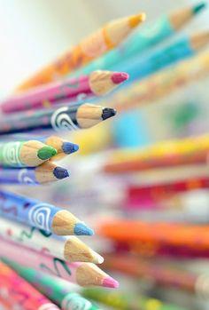 hello september by :Elizabeth: Pastel Pencils, Coloured Pencils, Image Crayon, Hello September, Pastel Palette, Pretty Pastel, Color Of Life, Pencil Art, Candy Colors