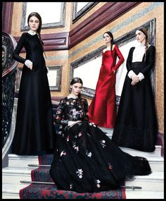 Valentino's New Reign | Photography by Ben Weller for Harper's Bazaar, May 2013 | Styling by Joanna Hillman