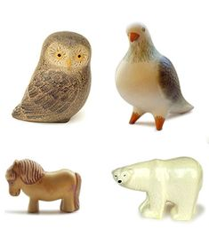 Vintage ceramics by Lisa Larson.