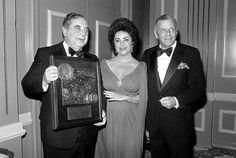 Frank Sinatra and Elizabeth Taylor #franksinatra #classic #hollywood #actress #elizabethtaylor