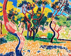 The colors in Fauvism make me happy