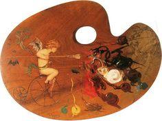 Γύζης Νικόλαος-Αλληγορία της ζωγραφικής