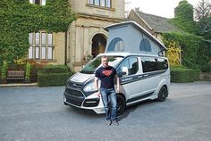 Andy Torbet to take M-Sport camper around the country for extreme adventure pursuits.