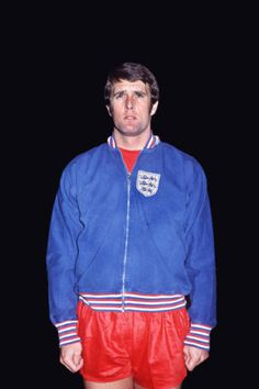 February West Ham United centre forward Geoff Hurst wearing an all red England kit for the match against Belgium, in Brussels. Retro Football, World Football, Football Team, England Kit, Geoff Hurst, England Football, West Ham, Team Player, Coming Home