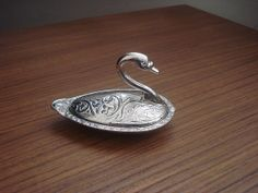 Turkish delight candy swan BOWL Decorative by AnatoliaBazaar, $12.50