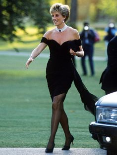 princess diana georgous dress