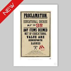 Proclamation No.35 - MinaLima Store