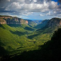 Parque Nacional Chapada da Diamantina, na Bahia - Brasil.