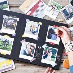 The Great Memoir Book – Sosyopix - Modern - Photo album scrapbooking - Scrapbook Journal, Scrapbook Albums, Scrapbook Supplies, My Adventure Book, Friend Scrapbook, Photo Album Scrapbooking, Baby Album, Diy Gifts For Boyfriend, Memory Books