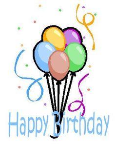 20 Printable Teen Birthday Cards: Printable Birthday Card #15: Balloons and Confetti