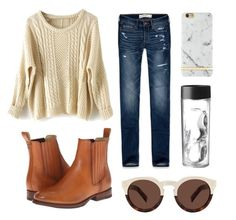"""Untitled #14"" by shannonwarn on Polyvore featuring Abercrombie & Fitch, Frye, Illesteva, women's clothing, women, female, woman, misses and juniors"