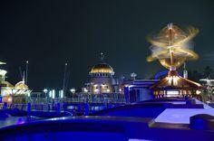 ポートディスカバリー / 東京ディズニーシー / 夜景 Tokyo Disney Sea, Tokyo Disney Resort, My Little Pony, Discovery, Taj Mahal, Paris, Night, Travel, Montmartre Paris