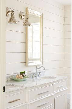 Paint Colors: 5 Favorites for Shiplap Sharing the 5 best white paint colors to paint shiplap. See if your favorite made the list!Sharing the 5 best white paint colors to paint shiplap. See if your favorite made the list! Best White Paint, White Paint Colors, White Paints, White Paint For Trim, White Trim, Stain Colors, White Bathroom Paint, Bathroom Paint Colors, Bath Paint