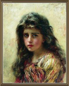 Портрет девушки.