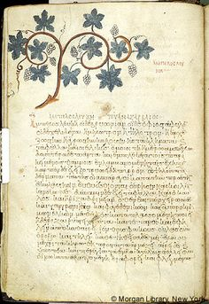 De materia medica, MS M.652 fol. 10v - Images from Medieval and Renaissance Manuscripts - The Morgan Library & Museum