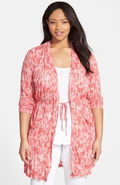 Chalet 'Kendall' Drawstring Waist Jacket (Plus Size) available at #Nordstrom