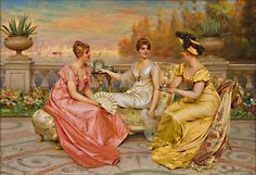 ∴ Trios ∴ the three graces, sisters, triplets & groups of 3 in art and vintage photos - Frederic Soulacroix | The Three Graces