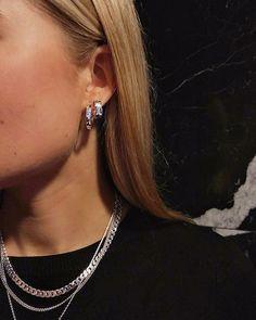 Camille Brinch Jewelery - Raw and feminine jewelry by Camille Brinch - Crush on silver⛓🖤 - Cute Jewelry, Silver Jewelry, Jewelry Accessories, Fashion Accessories, Fashion Jewelry, Women Jewelry, Jewelry Bracelets, Vintage Jewelry, Necklaces