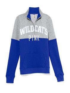 NWT University of Kentucky Nike Half Zip Jacket NWT
