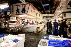 How to Visit Tsukiji Fish Market in Tokyo Before It Closes - Bloomberg