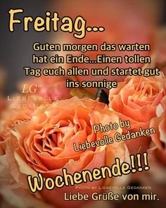 Cards, German Language, Good Morning Happy Friday, Good Night Love Images, Good Morning Images, Mom And Sister, Friday Sayings