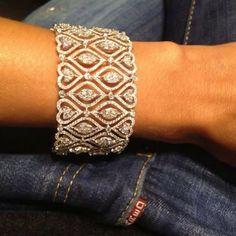 Diamond Bracelets : - Buy Me Diamond Diamond Bracelets, Gold Bangles, Bangle Bracelets, Djula Jewelry, Jewelry Accessories, Jewelry Design, Bracelet Designs, Jewelry Collection, Jewelery