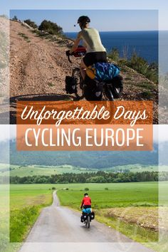 Cycling touring can be an up and down experience (ha ha), but the highs and the lows make for the most enduring memories.  If you're interesting in cycling Europe, or you just like a good travel story, click the pin!