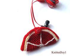 Case headphone grapefruit crochet case grapefruit slice