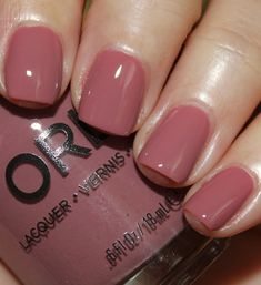 I'm obsessed with this color! I need to add it to my collection!! Orly Classic Contours