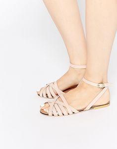 Image 1 - ASOS - FIFI - Sandales tressées en cuir