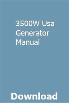 Electric Generators | Small Engine | Portable generator, Small