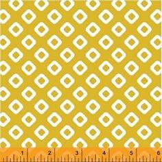 Squares yellow Dixie - Na ponta d'agulha