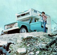 1966 Ford Bronco 4X4 SUV with Dreamer Camper