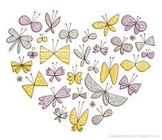 Hartje van vlinders