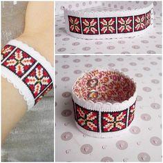 Lada Românească - Work At Home Moms Romania Cross Stitch Art, Cross Stitch Patterns, Handmade Bracelets, Handmade Jewelry, Handmade Gifts, String Art Tutorials, Palestinian Embroidery, Peyote Stitch, Crochet Projects