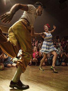 Lindy Hop at Herräng Dance Camp