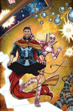 Gwenpool and Dr. Strange