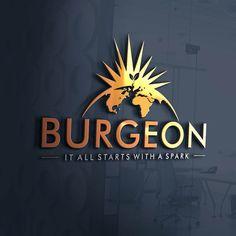 Burgeon Solutions logo designing by EAAR