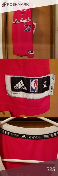 Blake Griffin jersey Adidas Blake Griffin #32 L.A. Clippers jersey.  Size XL. My son's shirt.  Has been worn but in really good shape.  No stains or holes.  Smoke free home!! Adidas Shirts Tank Tops
