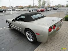 1998 Corvette Color Code | Light Pewter Metallic 1998 Chevrolet Corvette Convertible ...